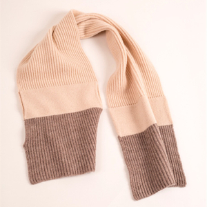 Pure Cashmere Kids' Rib Scarves