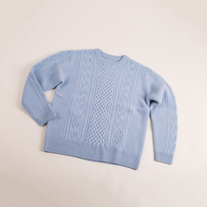 Cable Knitted cashmere pullover
